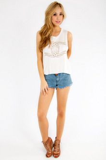 Crossing Horseshoes Tank Top $22
