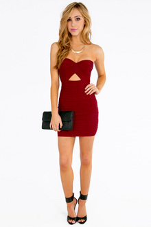 Diana Strapless Bodycon Dress $33