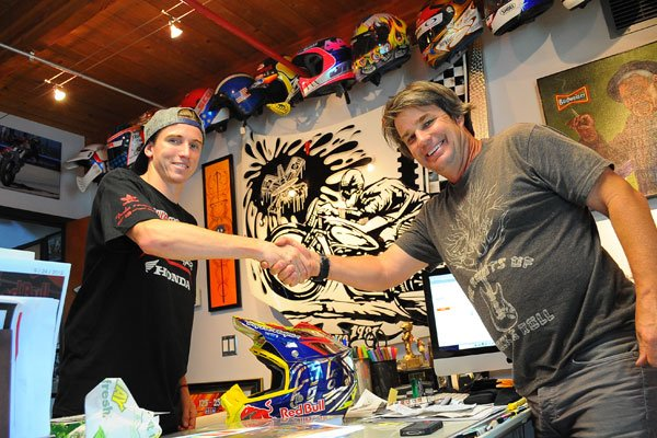 Cole Seely and Troy Lee