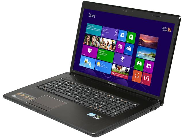 lenovo G780 Metal (59363225) Notebook Intel Core i5 3230M(2.60GHz) 17.3 inch 6GB Memory DDR3 1600 500GB HDD 5400rpm DVD±R/RW NVIDIA GeForce GT 635M