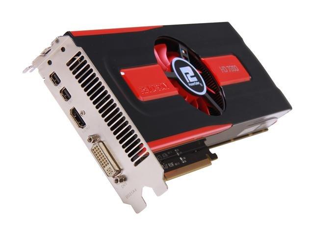 PowerColor AX7950 3GBD5-2DHV4 Radeon HD 7950 Boost State 3GB 384-bit GDDR5 PCI Express 3.0 x16 HDCP Ready CrossFireX Support Video Card