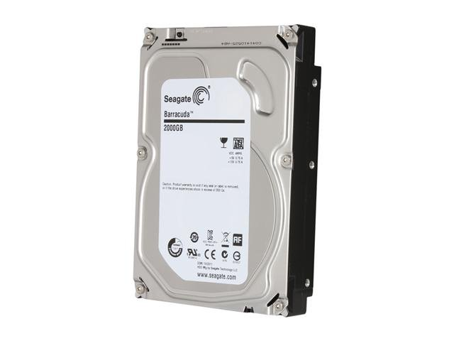Seagate Barracuda ST2000DM001 2TB 7200 RPM 64MB Cache SATA 6.0Gb/s 3.5 inch Internal Hard Drive - Bare Drive