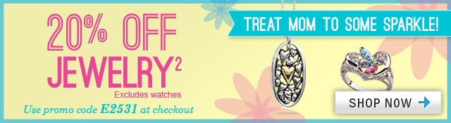 25% OFF ALL Jewelry