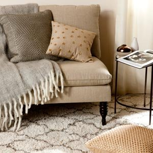 Finish the Master Suite: Curtains, Pillows, & Rugs