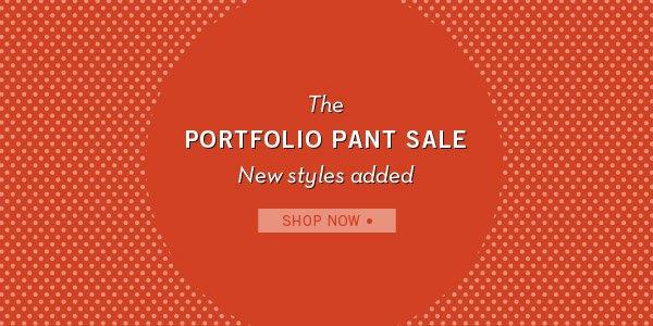 Portfolio Pant Sale