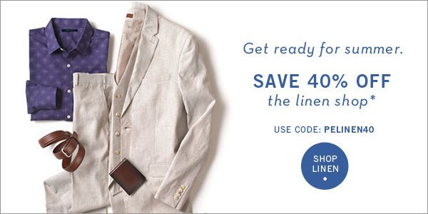 40% Off The Linen Shop