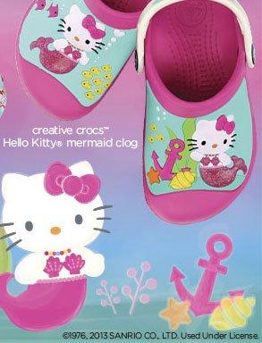 creative crocs™ Hello Kitty® mermaid clog