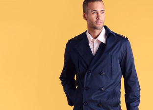 Men's Outerwear Featuring Nautica, Buffalo & Giorgio