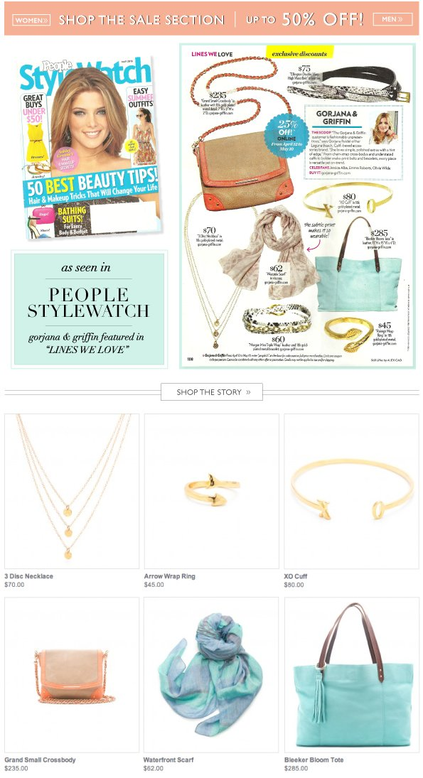 As Seen In People StyleWatch