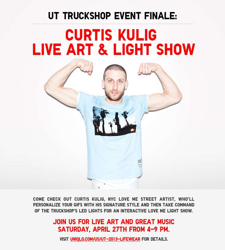 UT TRUCKSHOP EVEN FINALE: CURTIS KULIG LIVE ART AND LIGHT SHOW