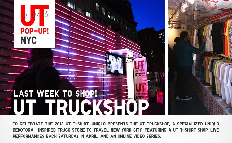 LAST WEEK TO SHOP: UT TRUCKSHOP