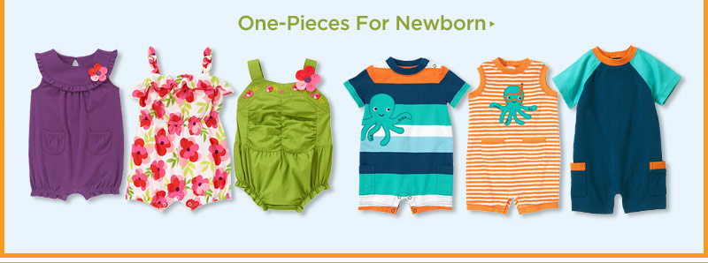 One-Pieces For Newborn