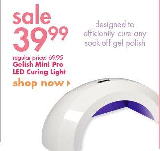 Gelish Mini Pro LED Curing Light