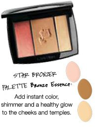 STAR BRONZER PALETTE | Bronze Essence | Add instant color, shimmer and a healthy glow to the cheeks and temples.