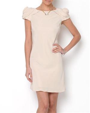 ABS By Allen Schwartz Fabric Accented Dress