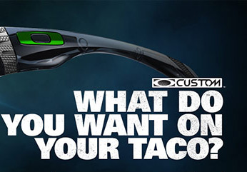 WHAT DO YOU WANT ON YOUR TACO?