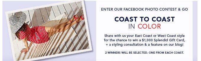 Enter Our Facebook Contest!