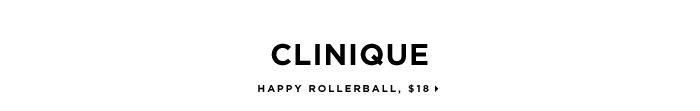 exclusive. Clinique Happy Rollerball, $18