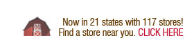 Now in 21 states with 117 stores! Find a store near you