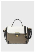 Marc by Marc Jacobs   Sheltered Island Colorblocked Top Handle