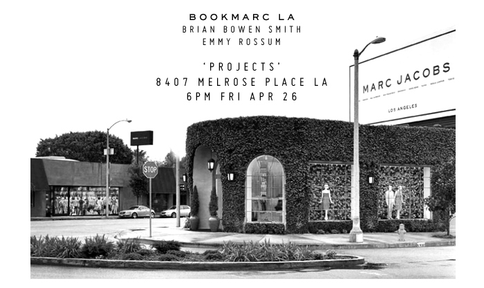Marc Jacobs   Brian Bowen Smith 'Projects' @ Bookmarc LA