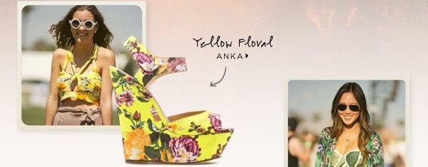 Yellow Floral: Anka