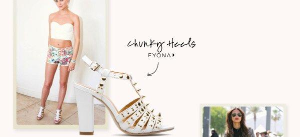 Chunky Heels: Fyona