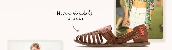 Woven Sandals: Lalana