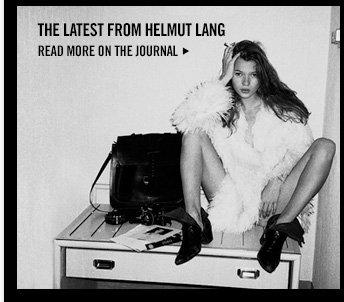 Helmut Lang Journal