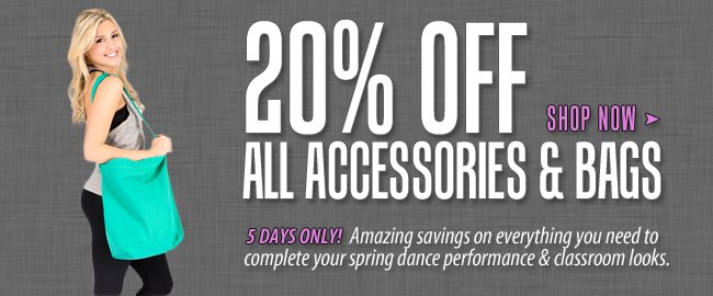 Shop all accessories on sale.
