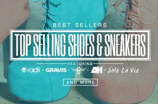 Top Selling Shoes and Sneakers