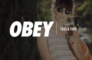 Obey Tees & Tops