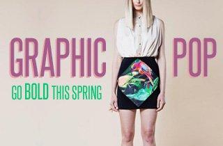 PLNDRWomen's: Graphic Pop