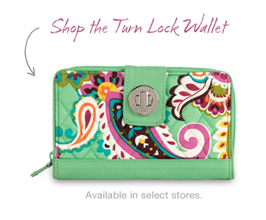 Shop the Turn Lock Wallet