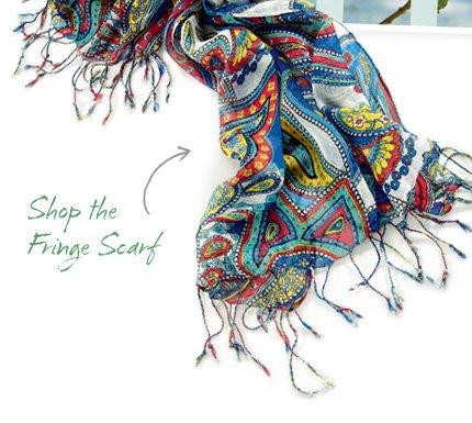 Shop the Fringe Scarf