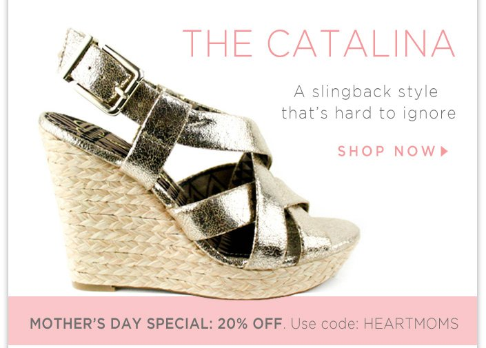 A slingback style that's hard to ignore! + 20% OFF Gifts for Mom! Use code: HEARTMOMS
