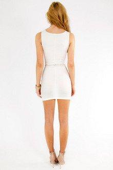 Splice Studded Dress $28