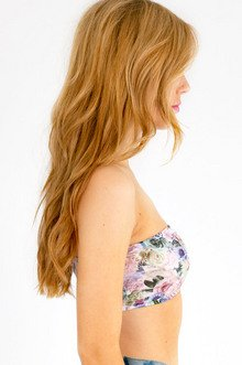 Once And Floral Bandeau $14