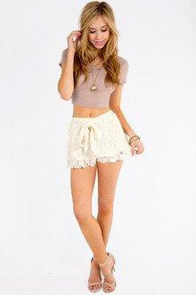 True Harmony Lace Shorts $32