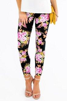 Floral Leggings $21