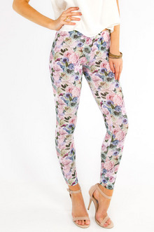 Once And Floral Leggings $21