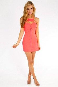 Neon Your Way Bodycon Dress $39