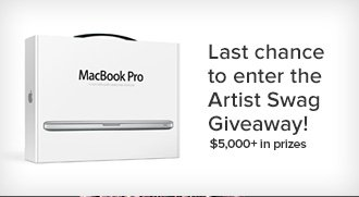 Enter the Artist Swag Giveaway - $5,000+ in prizes.