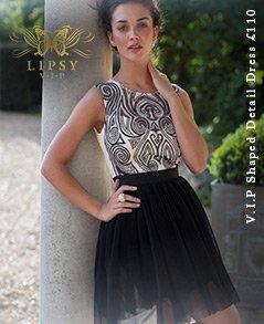 V I P Shaped Detail Dress