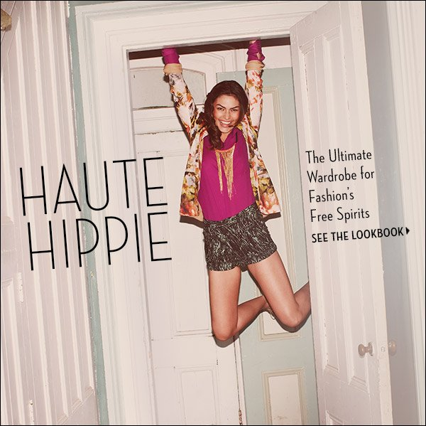 Haute Hippie's mix of glamour and basics creates the ultimate wardrobe for fashion's free spirits. Shop Haute Hippie >>
