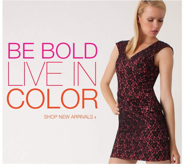 New Arrivals: Live in Color