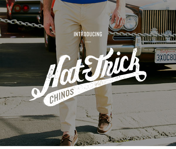 Hat-Trick Chinos