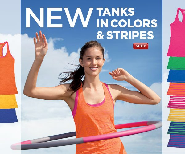 SHOP Colorful New Tanks