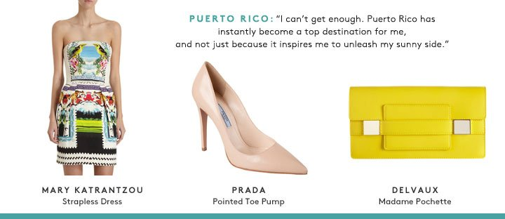From Paris to Puerto Rico, blogger Tina Craig picks the bags you need for all your exotic vacations. Shop now!
