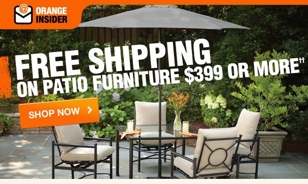 Free Shipping on Patio Furniture  Shop Now